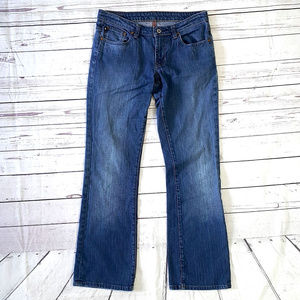 Polo Jeans Stretch Kelly flare medium wash jeans/6